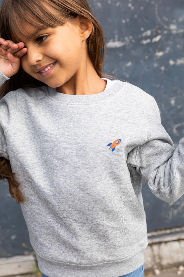 Kiddo - Sweater Grey - Rocket