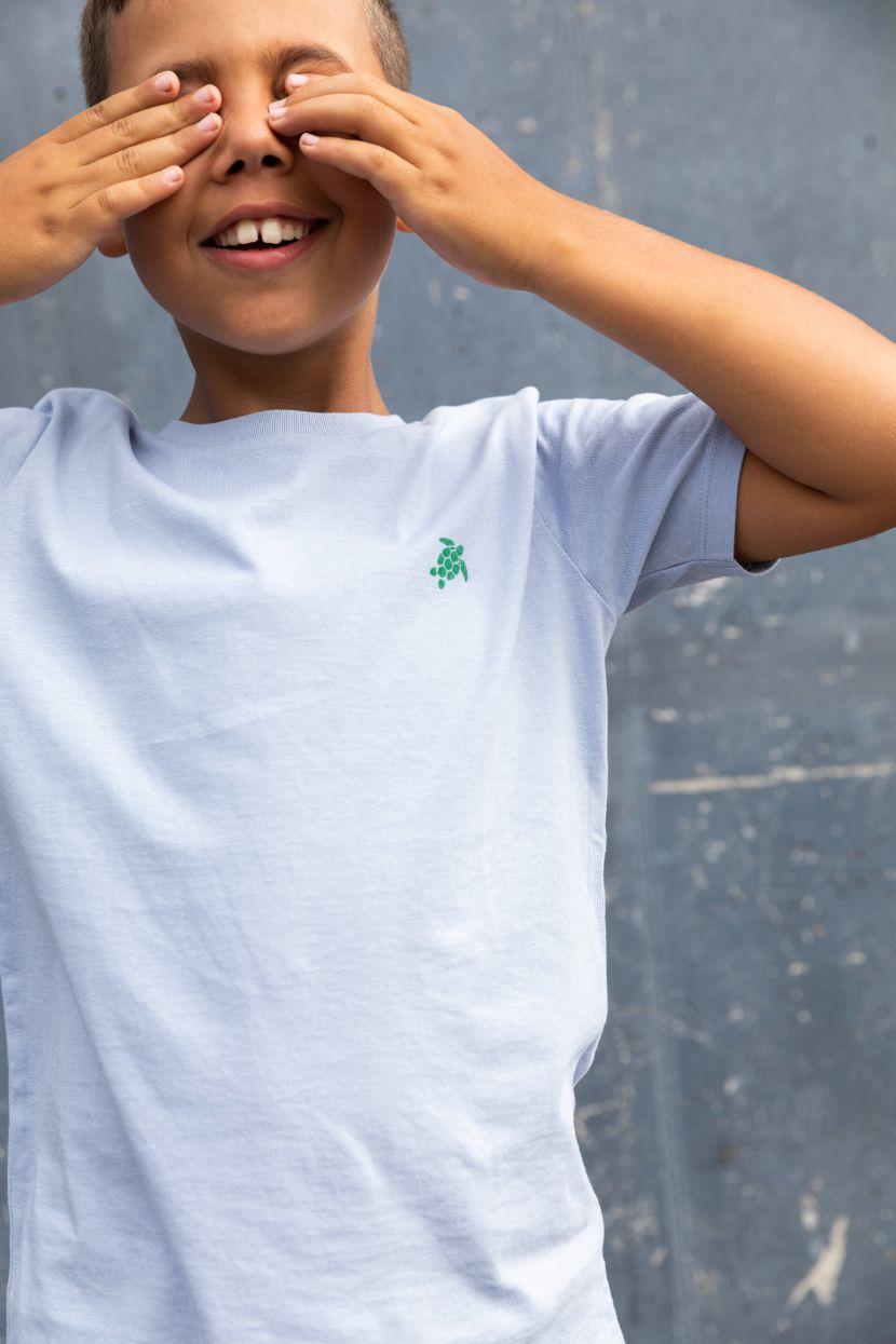Kiddo - T-shirt Ice Blue - Turtle