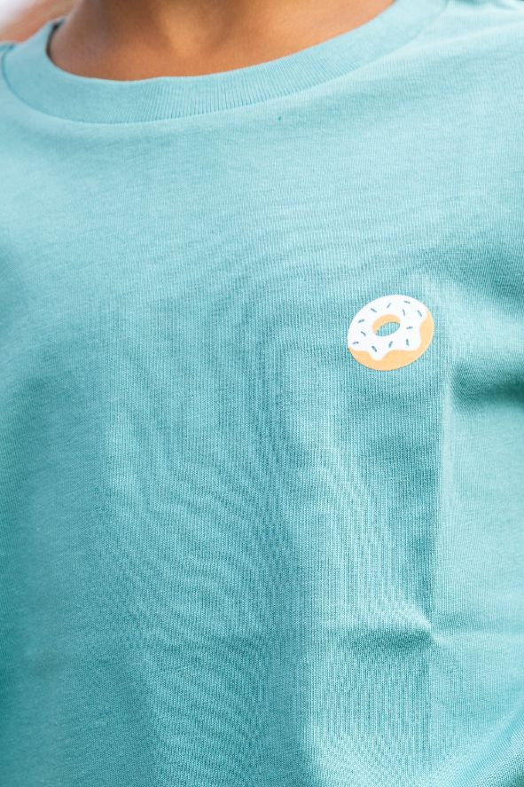 Kiddo - T-shirt Teal - Donut