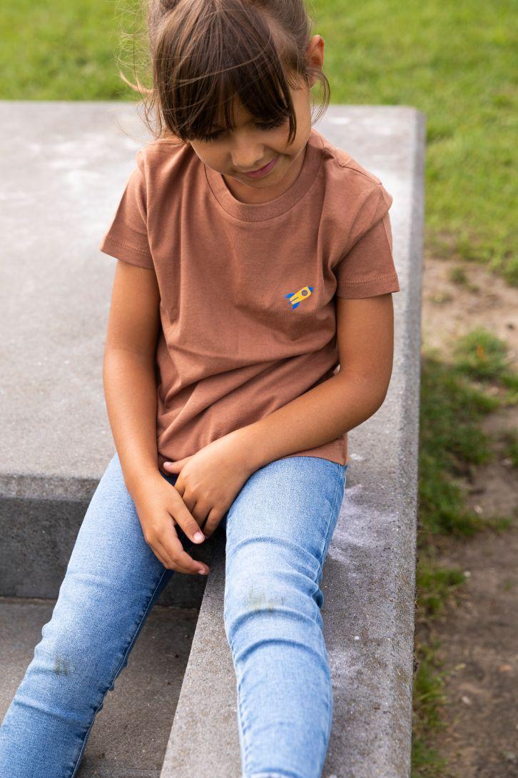 Kiddo - T-shirt Caramel - Rocket