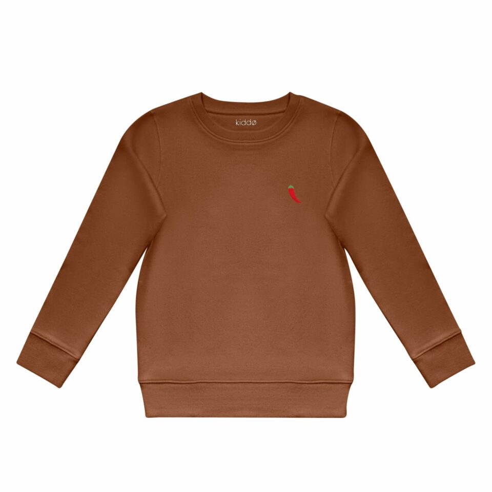 Kiddo - Sweater Caramel - Red Chili