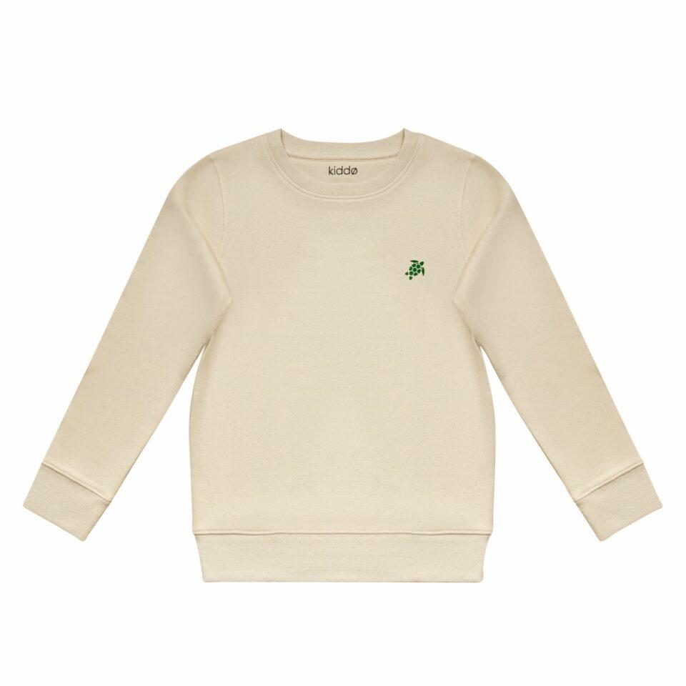 Kiddo - Sweater Natural Raw - Turtle