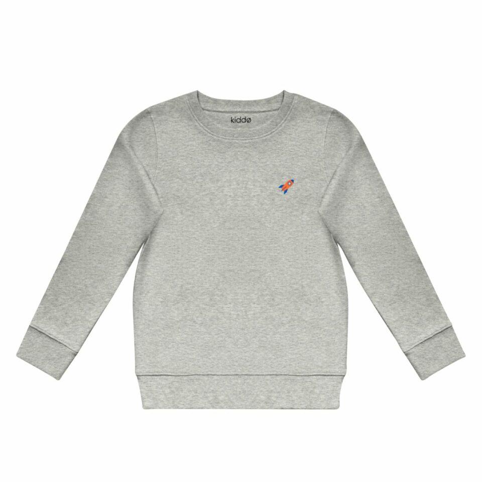 Kiddo - Grey Sweater - Rocket