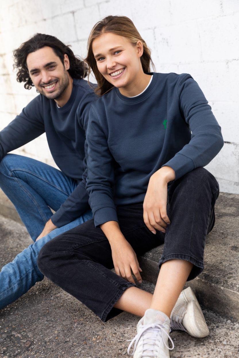STRØM - Sweater India Ink - Cactus