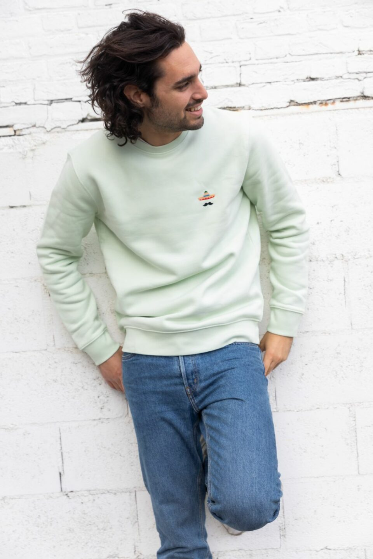 STRØM - Sweater Mint Green - Sombrero