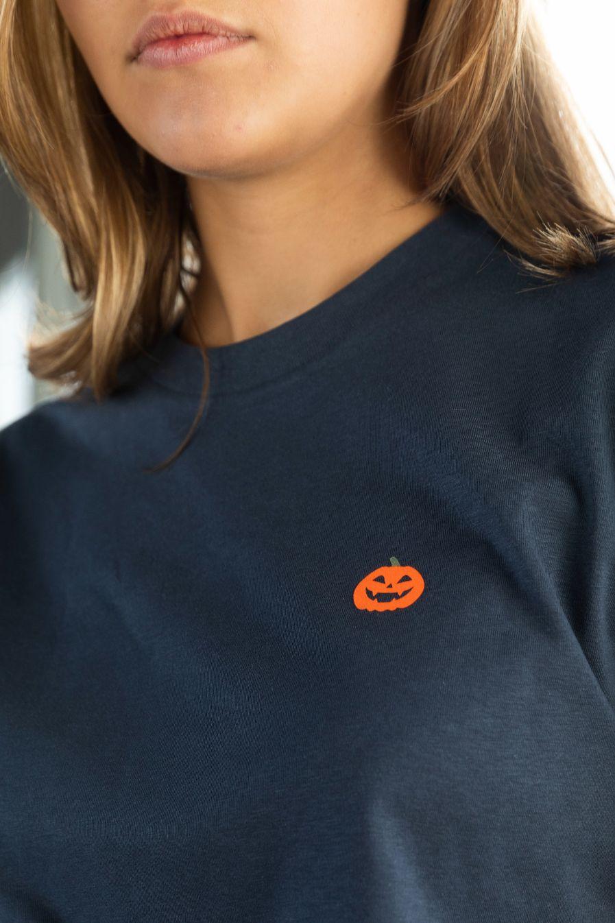 STRØM - T-shirt India Ink - Pumpkin