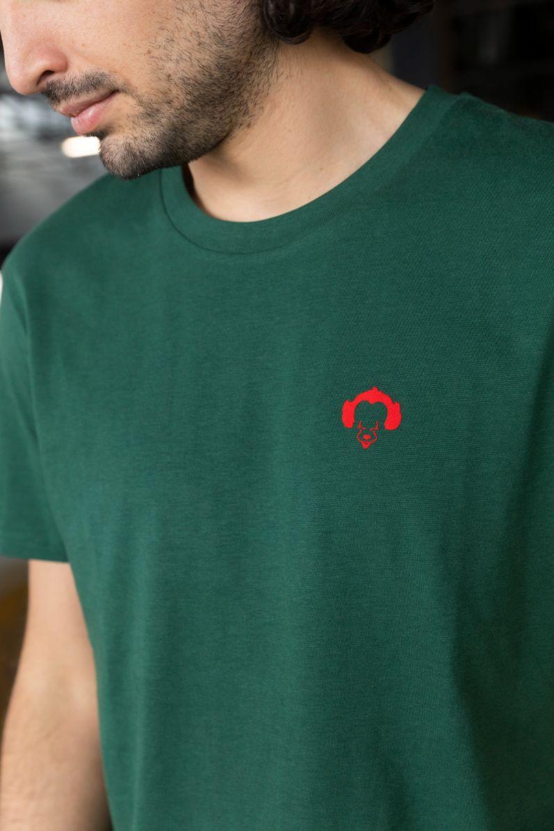 STRØM - T-shirt Dark Green - Pennywise